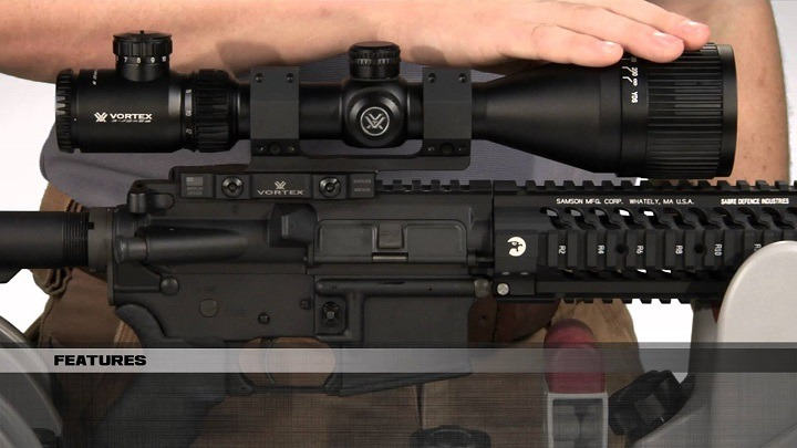 features of 308 scope