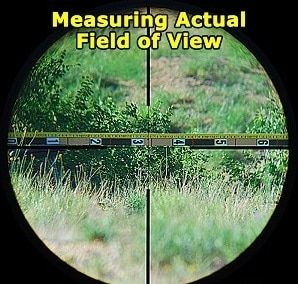 scope field of view