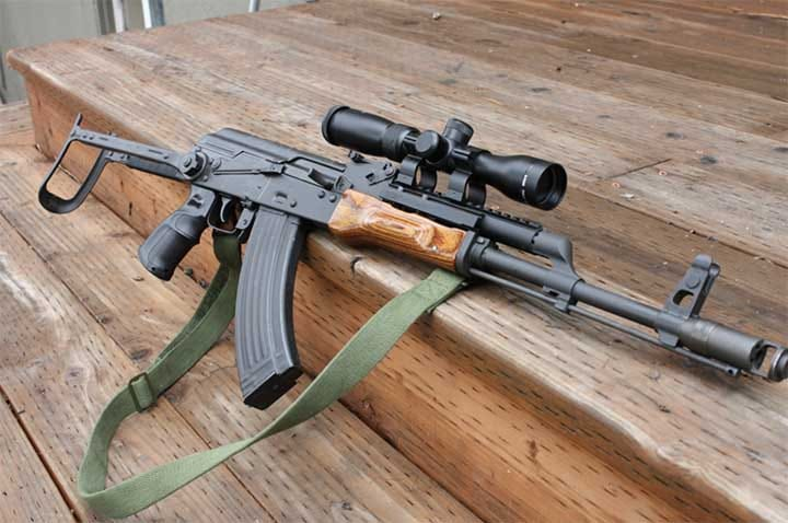 best scope for ak 47